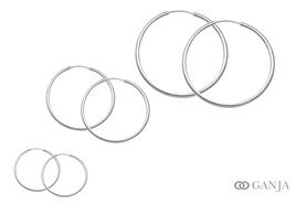 Kolczyki (śr. rury - 2,9mm)