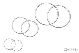Kolczyki (śr. rury - 2,4mm)